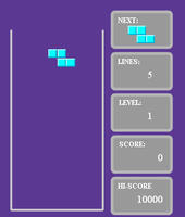Purple Tetris
